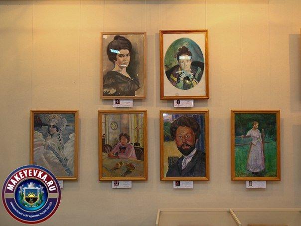 В Макеевке открылась выставка портретов-копий произведений известных художников (фото) - фото 4