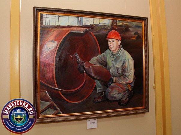 В Макеевке открылась выставка портретов-копий произведений известных художников (фото) - фото 1