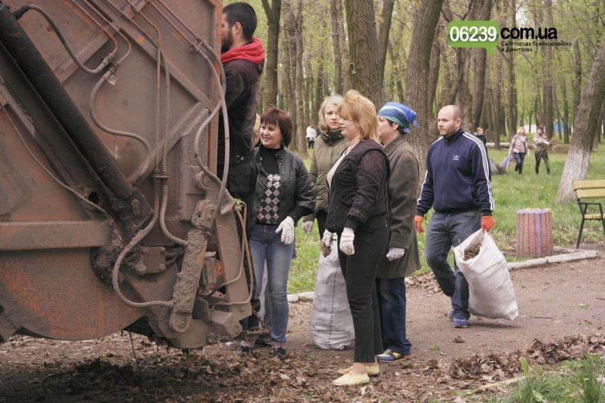 В Красноармейске (Покровске) около 3 тыс. горожан вышли на общегородской субботник (фото) - фото 2
