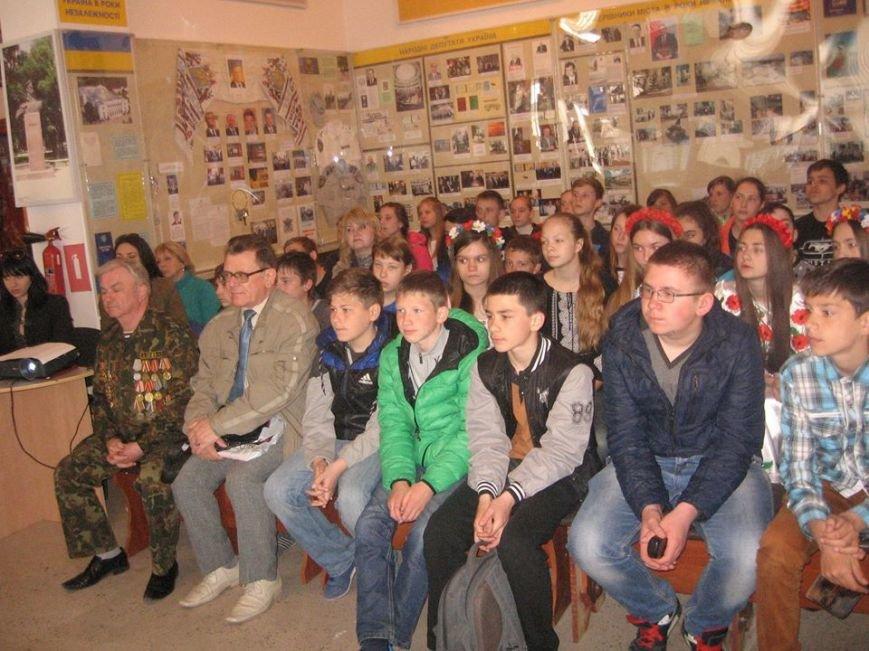 Встреча с героями-чернобыльцами прошла в музее истории Бердянска, фото-1