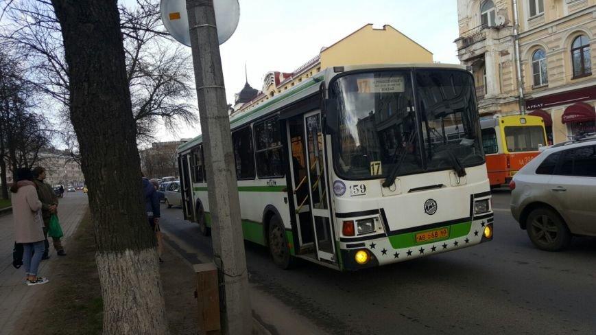7-ми балльные шторма в Псковских автобусах. (фото) - фото 1