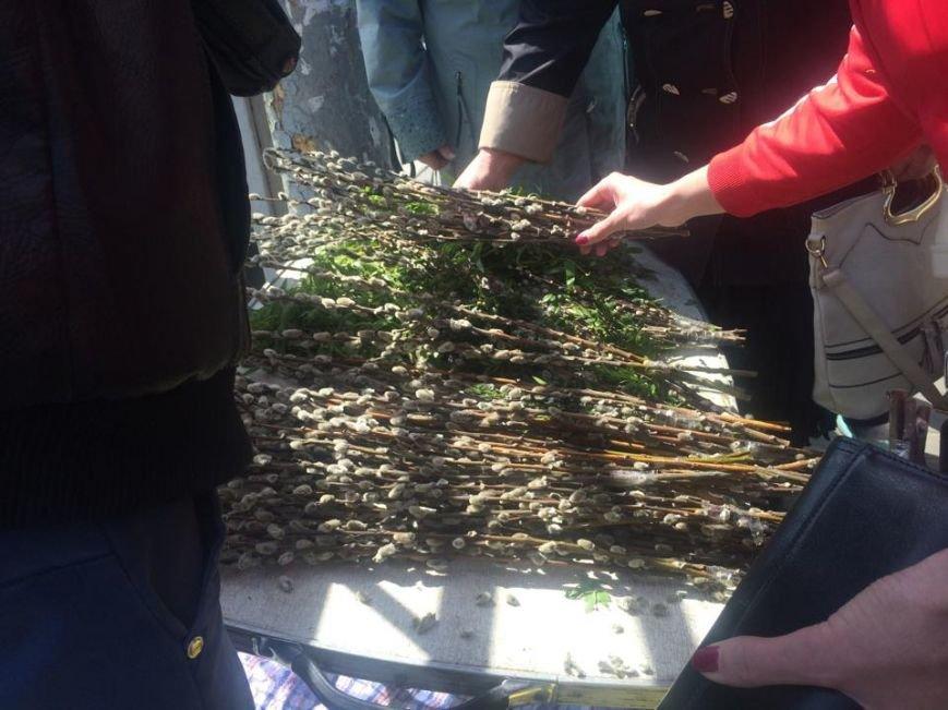 Мариупольцы готовятся встретить Вербное Воскресенье (Фотофакт), фото-3