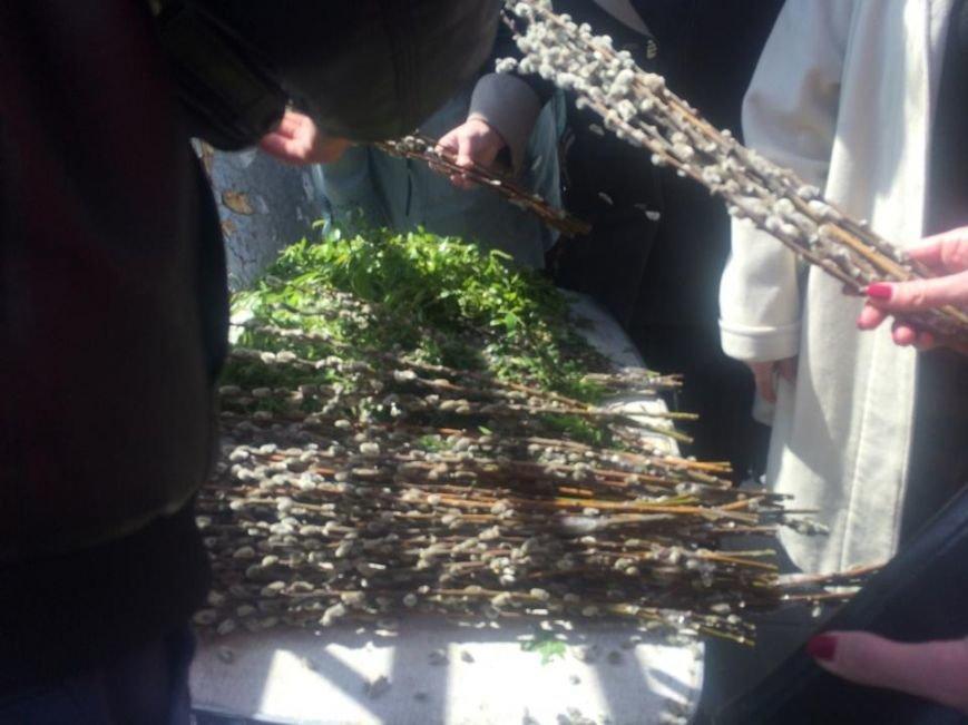 Мариупольцы готовятся встретить Вербное Воскресенье (Фотофакт), фото-2