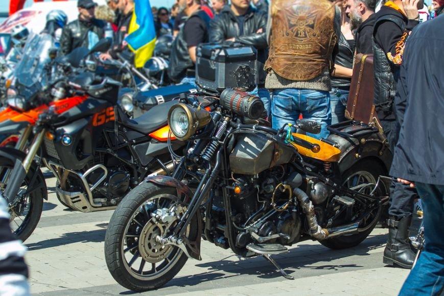 Что делали более 500 байкеров на набережной Днепропетровска (ФОТО), фото-15