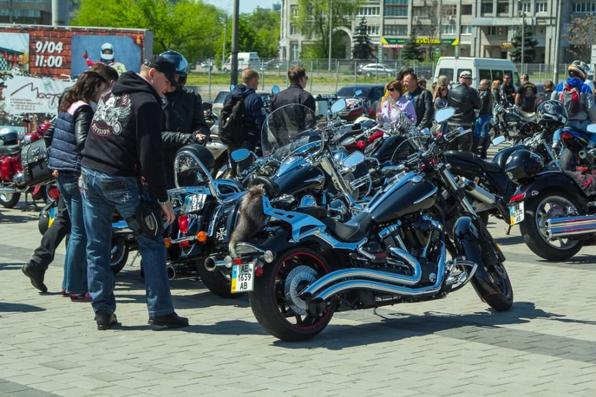 Что делали более 500 байкеров на набережной Днепропетровска (ФОТО), фото-3