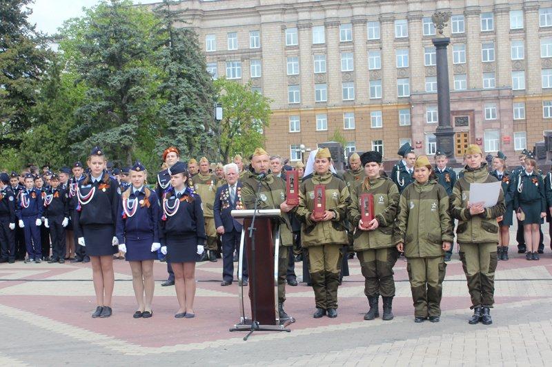 Кадеты прошли парадом по главной площади Белгорода, фото-10