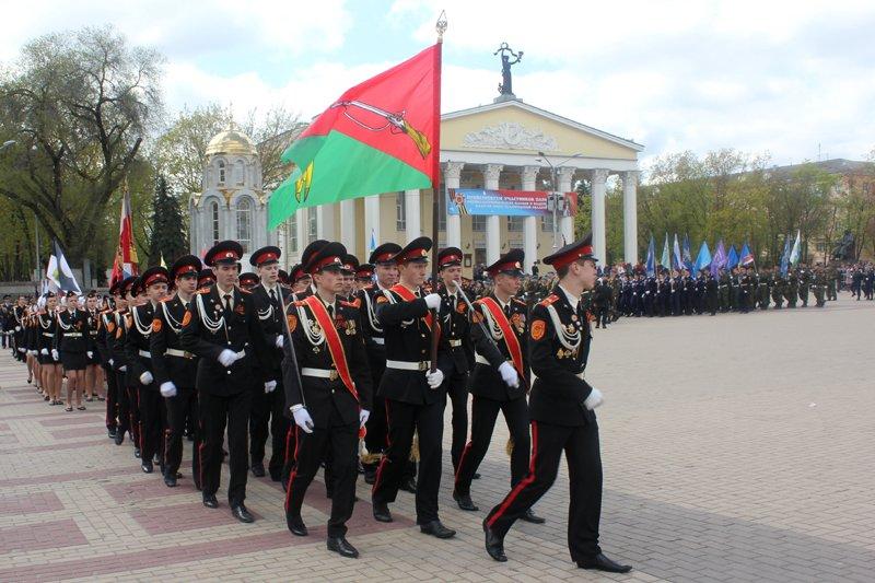 Кадеты прошли парадом по главной площади Белгорода, фото-2