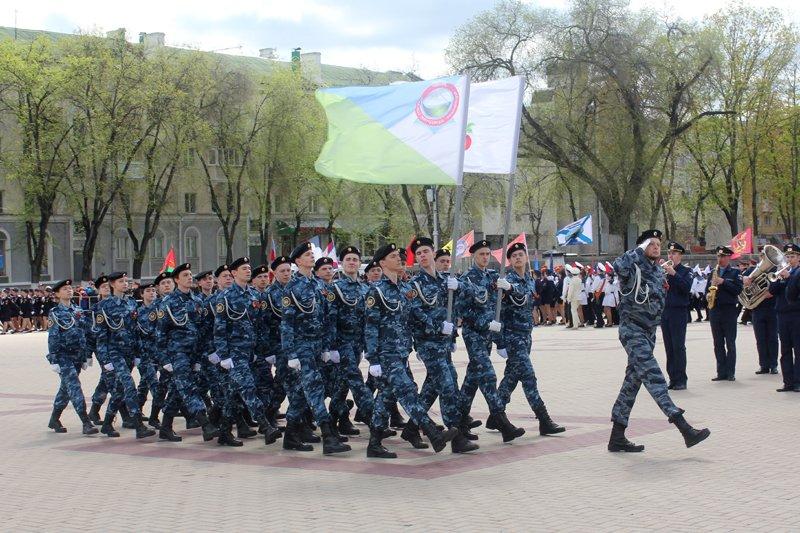 Кадеты прошли парадом по главной площади Белгорода, фото-4