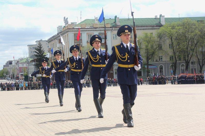 Кадеты прошли парадом по главной площади Белгорода, фото-7