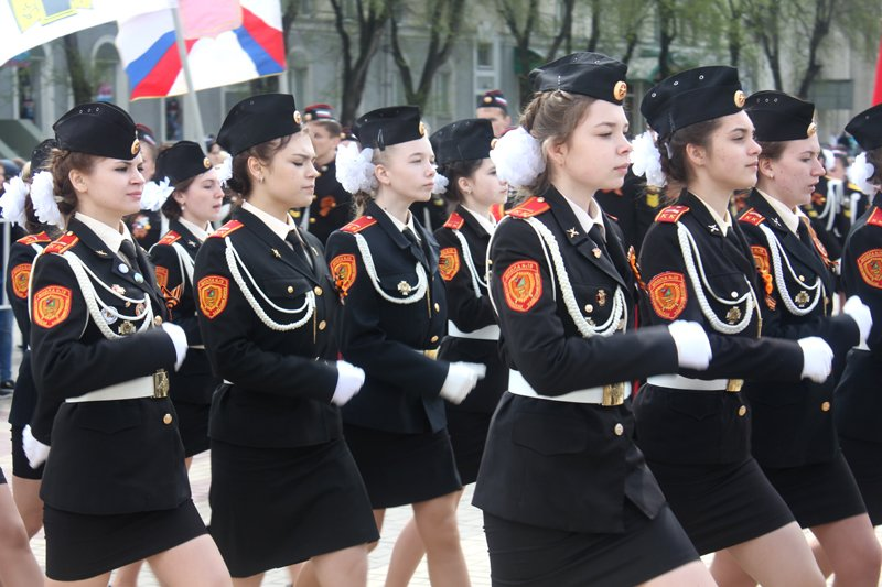 Кадеты прошли парадом по главной площади Белгорода, фото-6