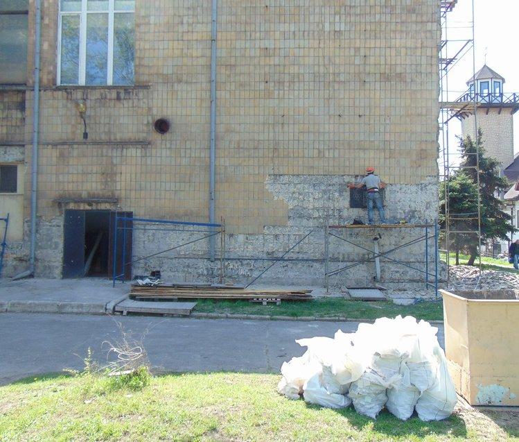 В Мариуполе декоммунизировали спорткомплекс (ФОТОФАКТ), фото-1
