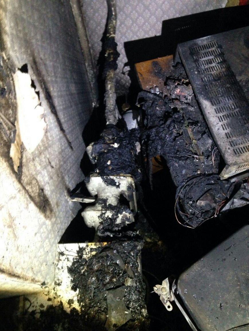 Пожар в центре Днепропетровска: есть пострадавшие (ФОТО) (фото) - фото 1