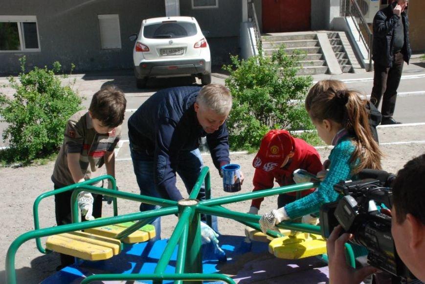 Как в Кременчуге на субботнике убирались мэр, заместители, депутаты и другие жители города, фото-10