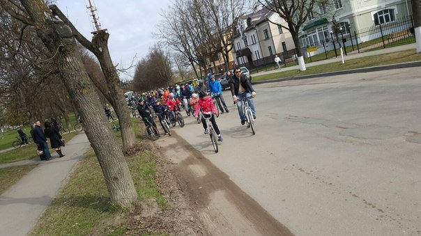В Пскове состоялось открытие велосезона (фото) - фото 1