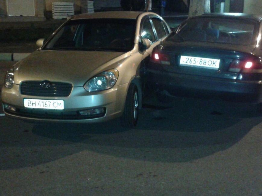 В Черноморске произошла автомобильная авария (+фото) (фото) - фото 1