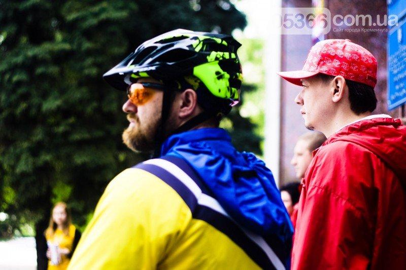 """Кременчугские велосипедисты открыли сезон и впервые стали """"сердце к сердцу"""" (ВИДЕО), фото-4"""