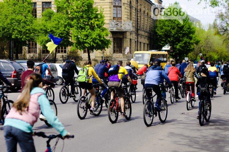 """Кременчугские велосипедисты открыли сезон и впервые стали """"сердце к сердцу"""" (ВИДЕО), фото-7"""