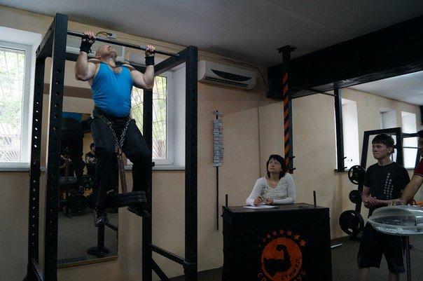Мариупольцы подтягивались с дополнительным весом (ФОТО) (фото) - фото 1