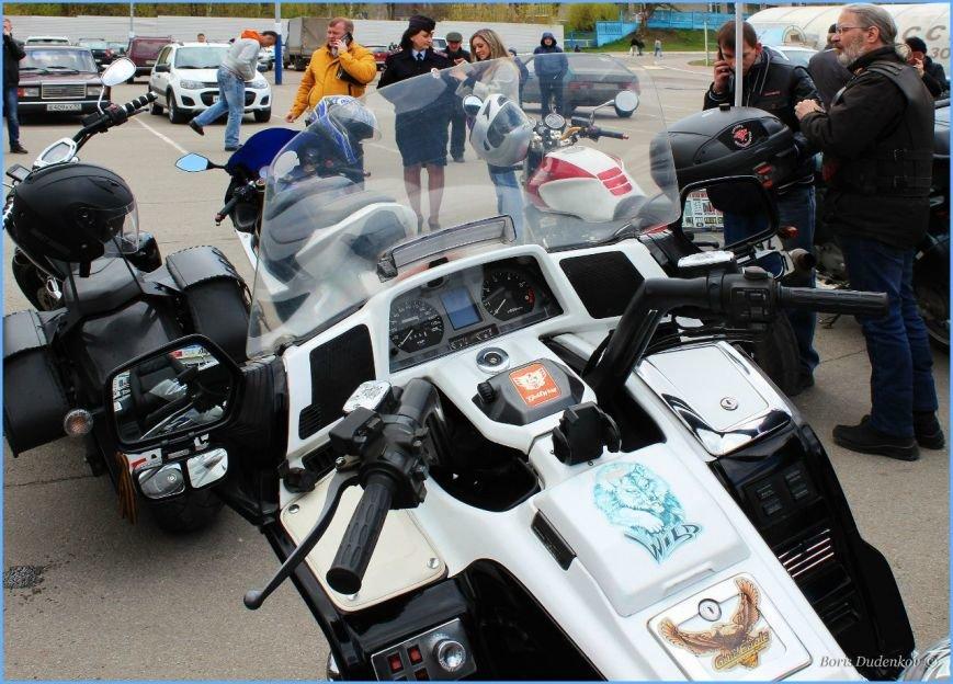 Брянские байкеры попробовали асфальт (фото) - фото 1