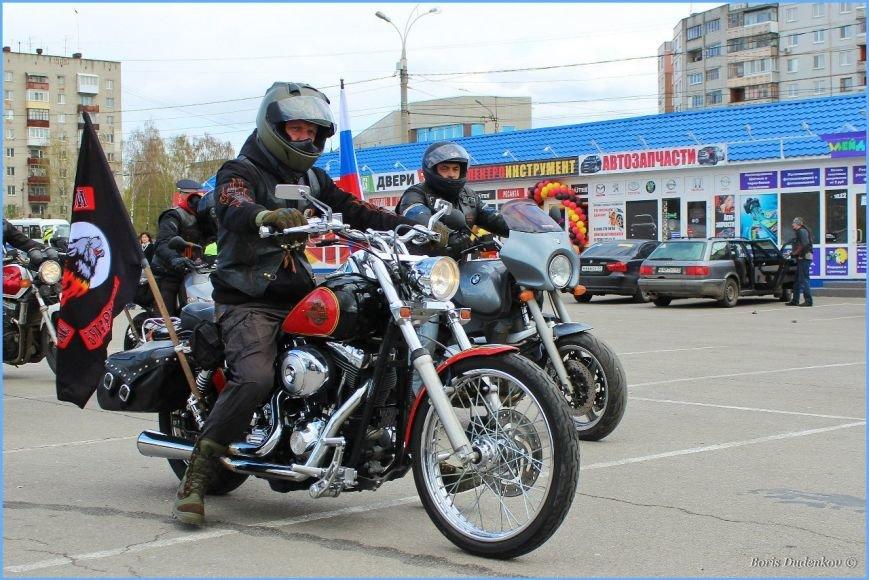 Брянские байкеры попробовали асфальт (фото) - фото 5