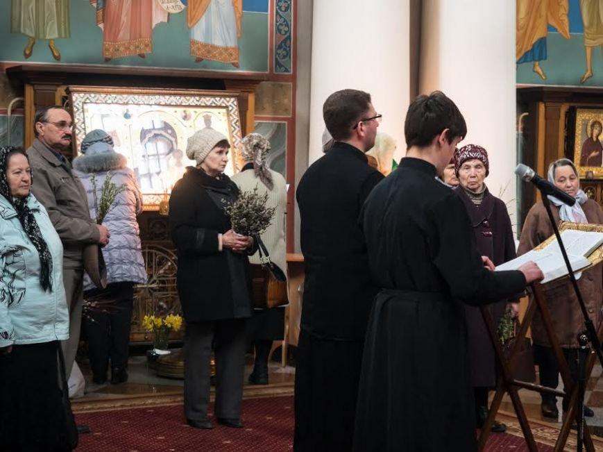 Православные христиане Витебска встретили Вербное воскресенье, фото-2