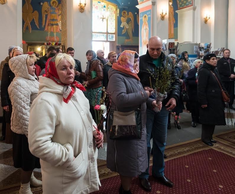 Православные христиане Витебска встретили Вербное воскресенье, фото-3