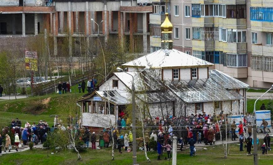 Православные христиане Витебска встретили Вербное воскресенье, фото-4