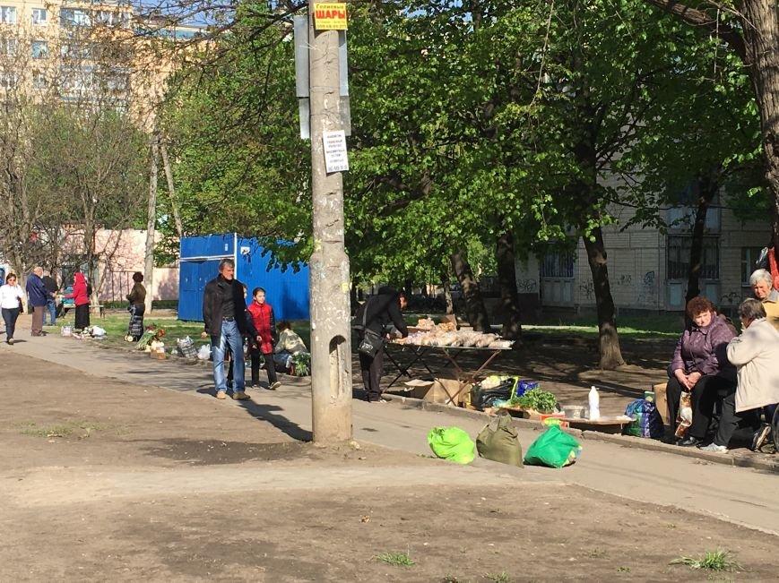 Полиция штрафует торгующих на стихийных рынках, а криворожане выстраиваются к ним в очередь за молоком и мясом (ФОТО), фото-5