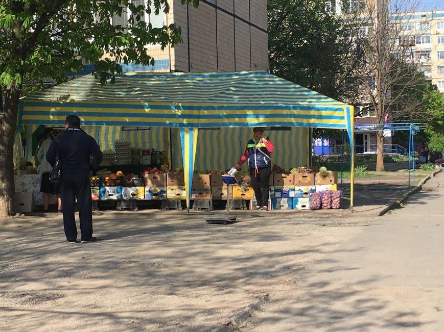 Полиция штрафует торгующих на стихийных рынках, а криворожане выстраиваются к ним в очередь за молоком и мясом (ФОТО), фото-4