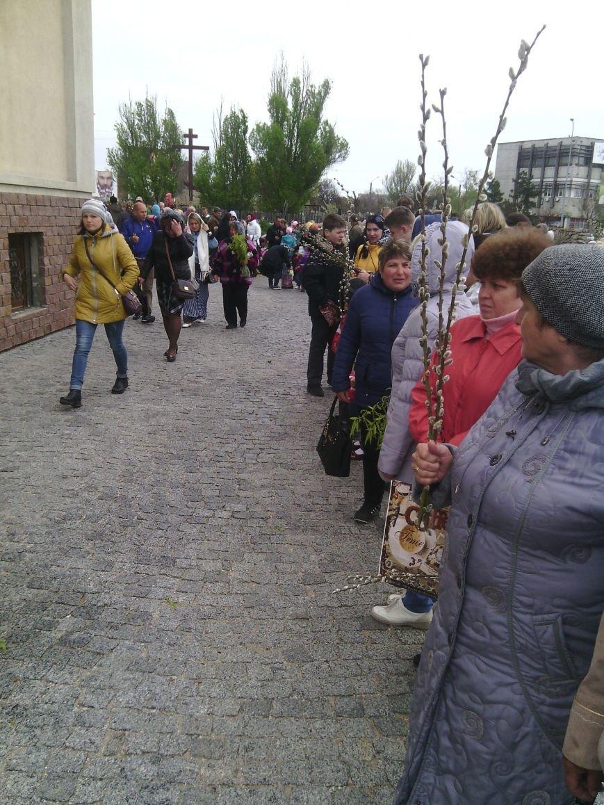 Жители Бердянска отпраздновали Вербное Воскресенье (ФОТО), фото-1