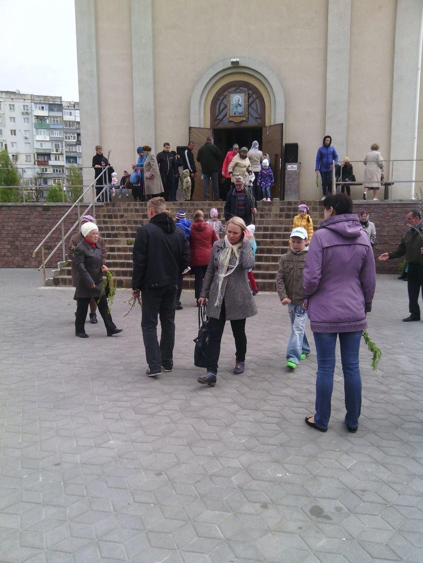 Жители Бердянска отпраздновали Вербное Воскресенье (ФОТО), фото-5