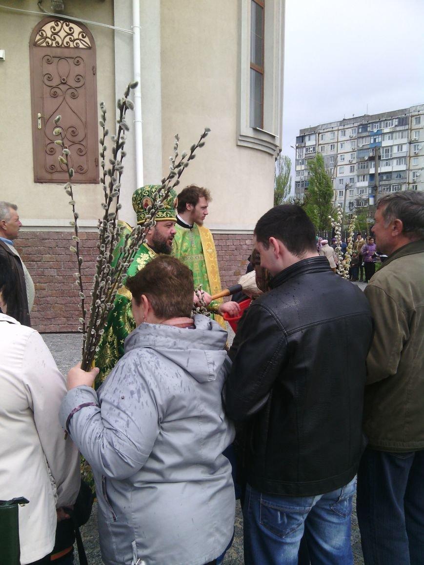 Жители Бердянска отпраздновали Вербное Воскресенье (ФОТО), фото-4