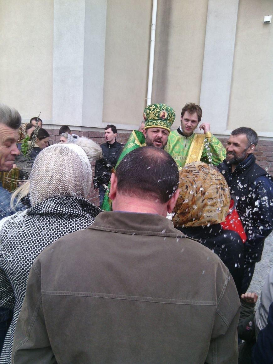 Жители Бердянска отпраздновали Вербное Воскресенье (ФОТО), фото-3