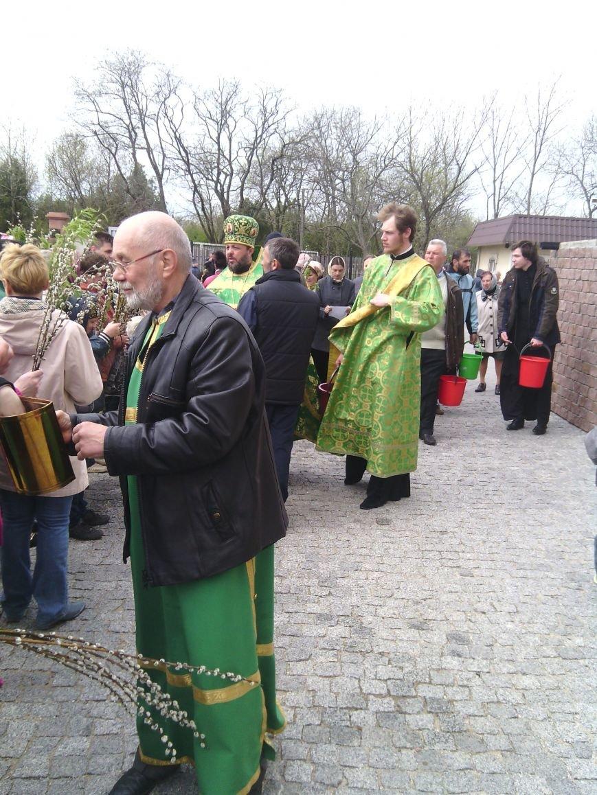 Жители Бердянска отпраздновали Вербное Воскресенье (ФОТО), фото-2