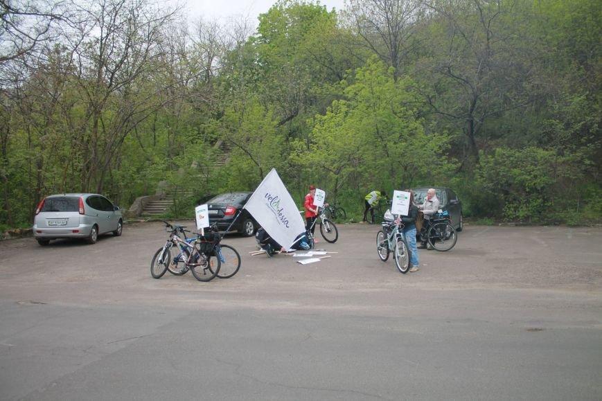 4643d48dddc3f07cd6e610a81eb88293 Одесские велосипедисты перекрыли часть Трассы здоровья для автохамов