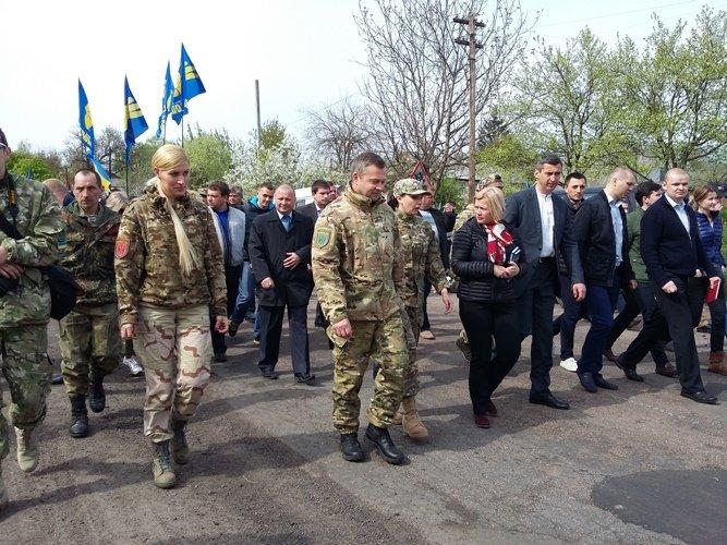 На Черкащині вшанування героїв Холодного Яру об'єднали патріотів (ФОТО), фото-3