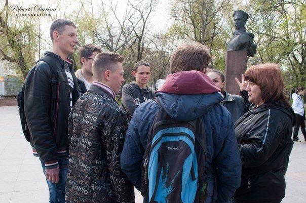Студенты Бердянска учились бороться за экологическую чистоту своего города, фото-7