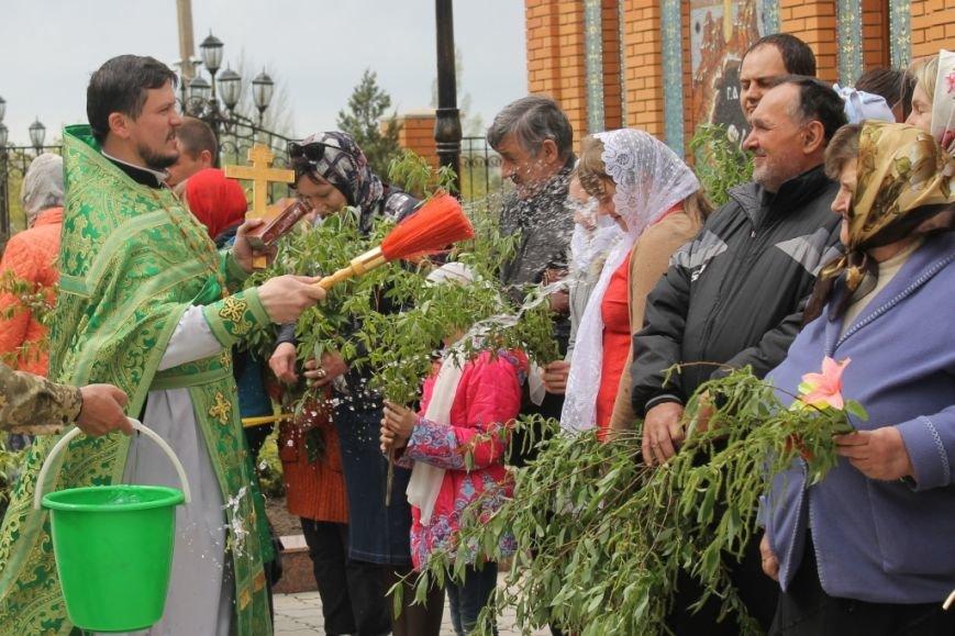 «Вербное воскресенье» в Свято-Покровском храме с. Боевое (фото) - фото 1