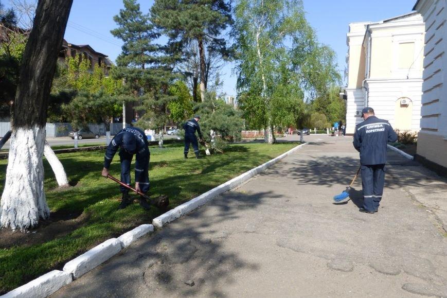 Рятувальники взяли участь у проведенні Всеукраїнської акції «За чисте довкілля» (фото) - фото 1