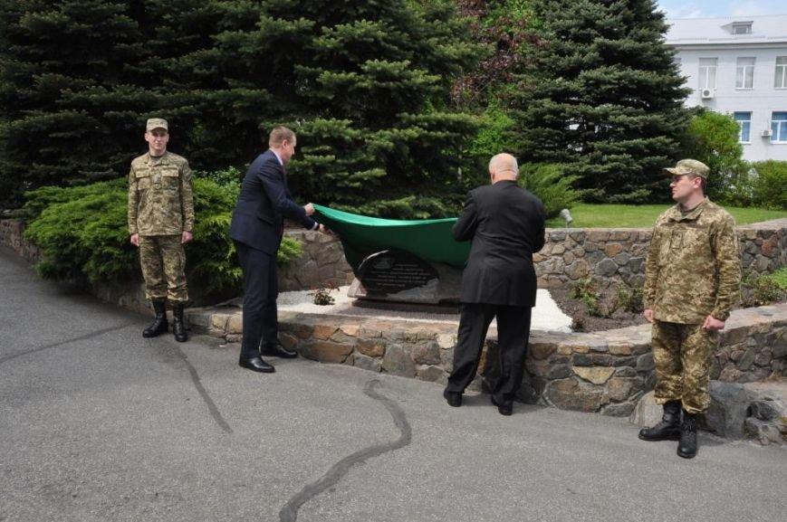 На Днепропетровщине в СБУ открыли памятный знак посвященный 30 годовщине аварии на ЧАЭС. (ФОТО), фото-4