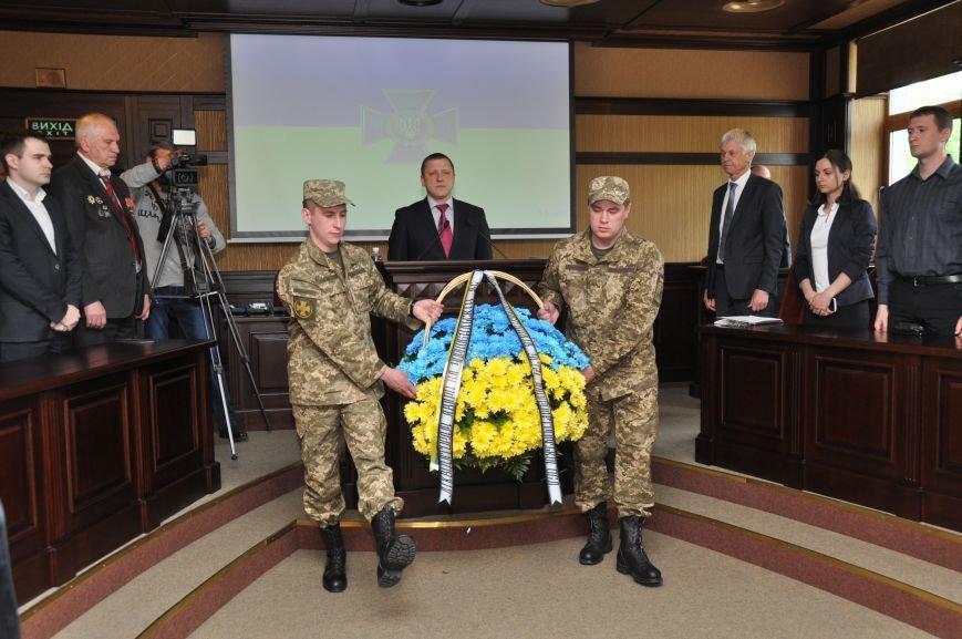 На Днепропетровщине в СБУ открыли памятный знак посвященный 30 годовщине аварии на ЧАЭС. (ФОТО), фото-1