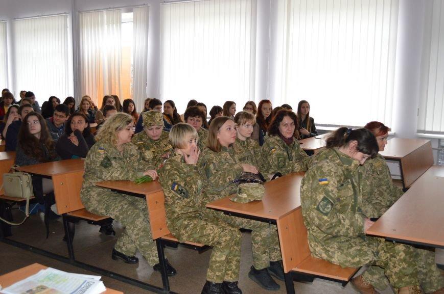 В ДонНТУ Красноармейска (Покровска) прошла открытая лекция, посвящённая женским бесстрашию и героизму (фото) - фото 3