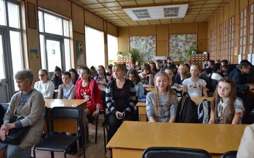 школярі на зустрічі з волонтерами