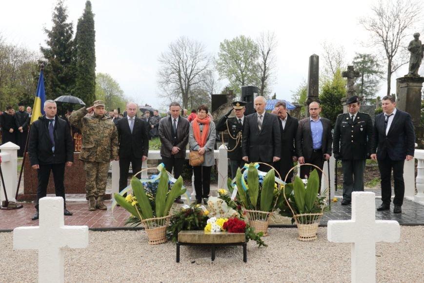У Тернополі вшановували пам'ять полеглих у Першій Світовій війні бельгійських солдат, фото-5