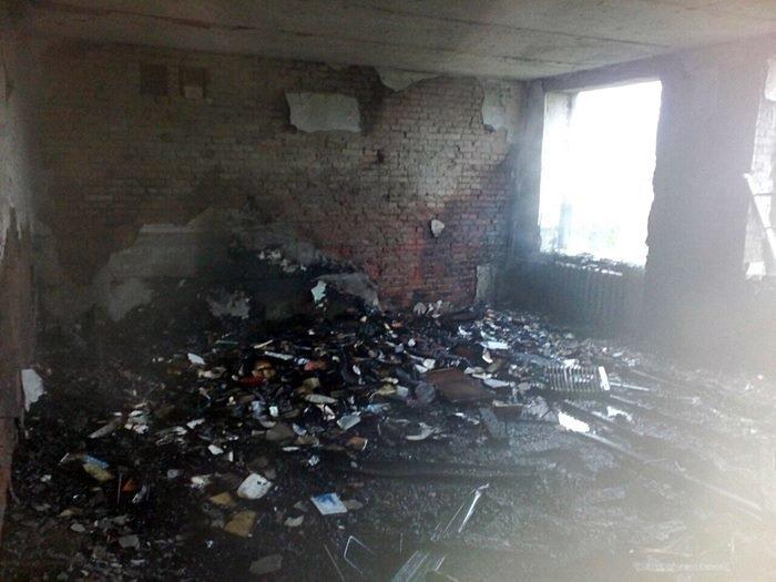 У Тячівському районі горіла школа (фото) - фото 2