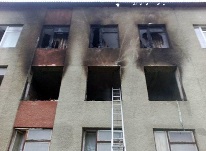 У Тячівському районі горіла школа (фото) - фото 1