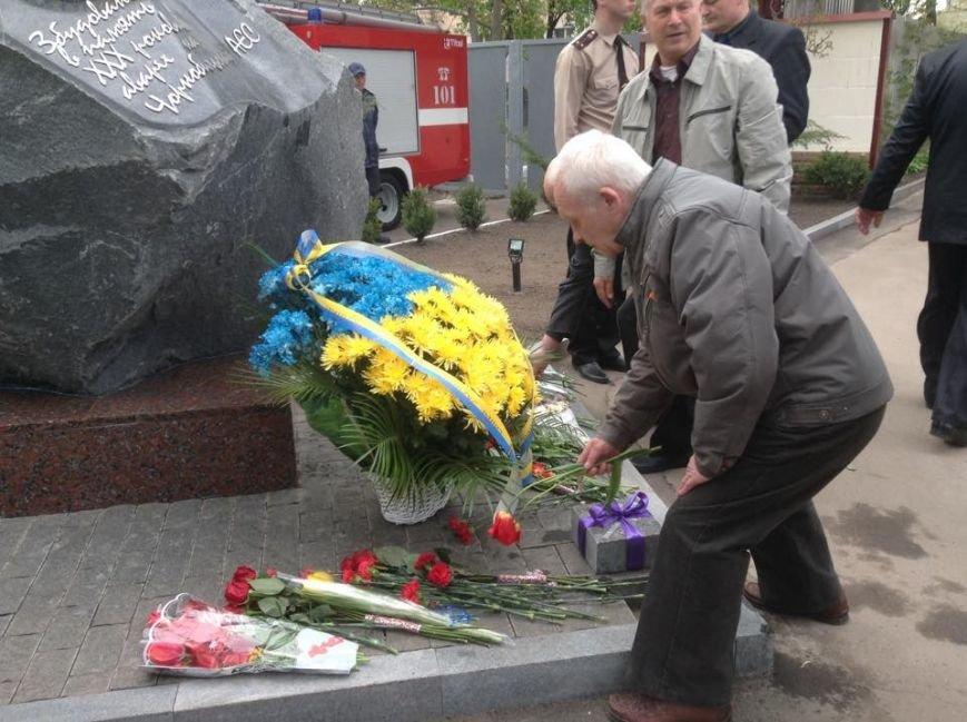 """У Черкасах відкрили пам'ятник """"Нескорені Чорнобилем"""" та заклали капсулу часу (ФОТО), фото-1"""