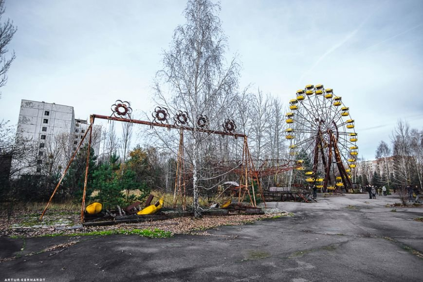 Чернобыль 30 лет спустя: причина смерти сотен тысяч человек или международный аттракцион (ФОТО), фото-50