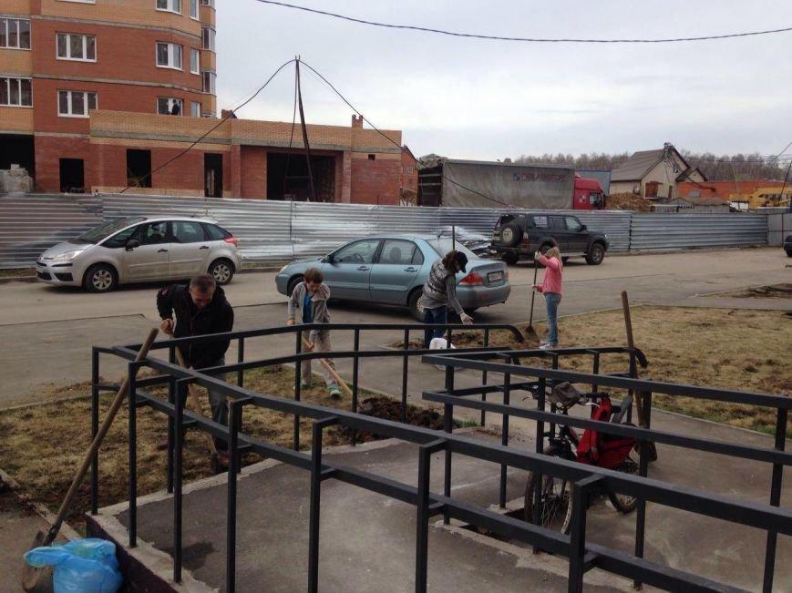 23 апреля в Подмосковье прошел общеобластной субботник (фото) - фото 3