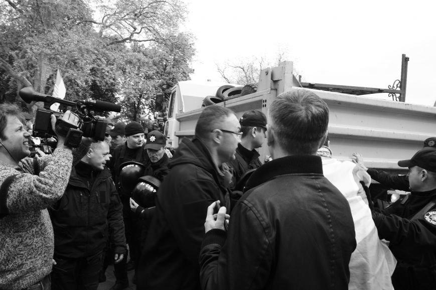 21b2b5b8ce3222a15a1d79792072d077 Полиция с титушками на службе у мэрии: Как в Одессе разгоняли мирный протест